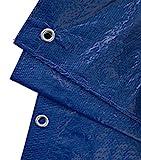 GardenMate 2 x 3 m 90 g/m2 Lona de protección Universal azul/verde   Funda protectora   Lona impermeable