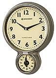 Bresser MyTime - Reloj de Cocina y Temporizador Retro de Acero Inoxidable