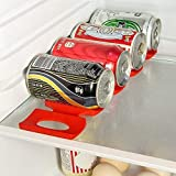 (Bottle Mats) - Prochive Silicone Beer Cola Wine Bottle Mats, Water Bottles & Food Cans Rack Holder Stack, Perfect Kitchen Cabinet And Fridge Stack Storage, Bottles Cans Fridge Organiser, 1 Pcs, Red