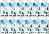 Areon Clima Fresh Ambientador Océano Azul Casa Aire Acondicionado Original Perfume Hogar Salón Habitación Oficina Tienda Duradero Moderno Olor ( Blue Ocean Pack de 12 )