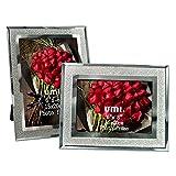 UMI. Essentials Marcos de Fotos de Cristal Brillante 15 x 20 cm, Juego de 2