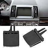 Accesorios para el Interior del automóvil Kit de reparación de la Abrazadera de la Etiqueta de ventilación del Aire Acondicionado del Frente del Aire Acondicionado para Land Rover Freelander 2